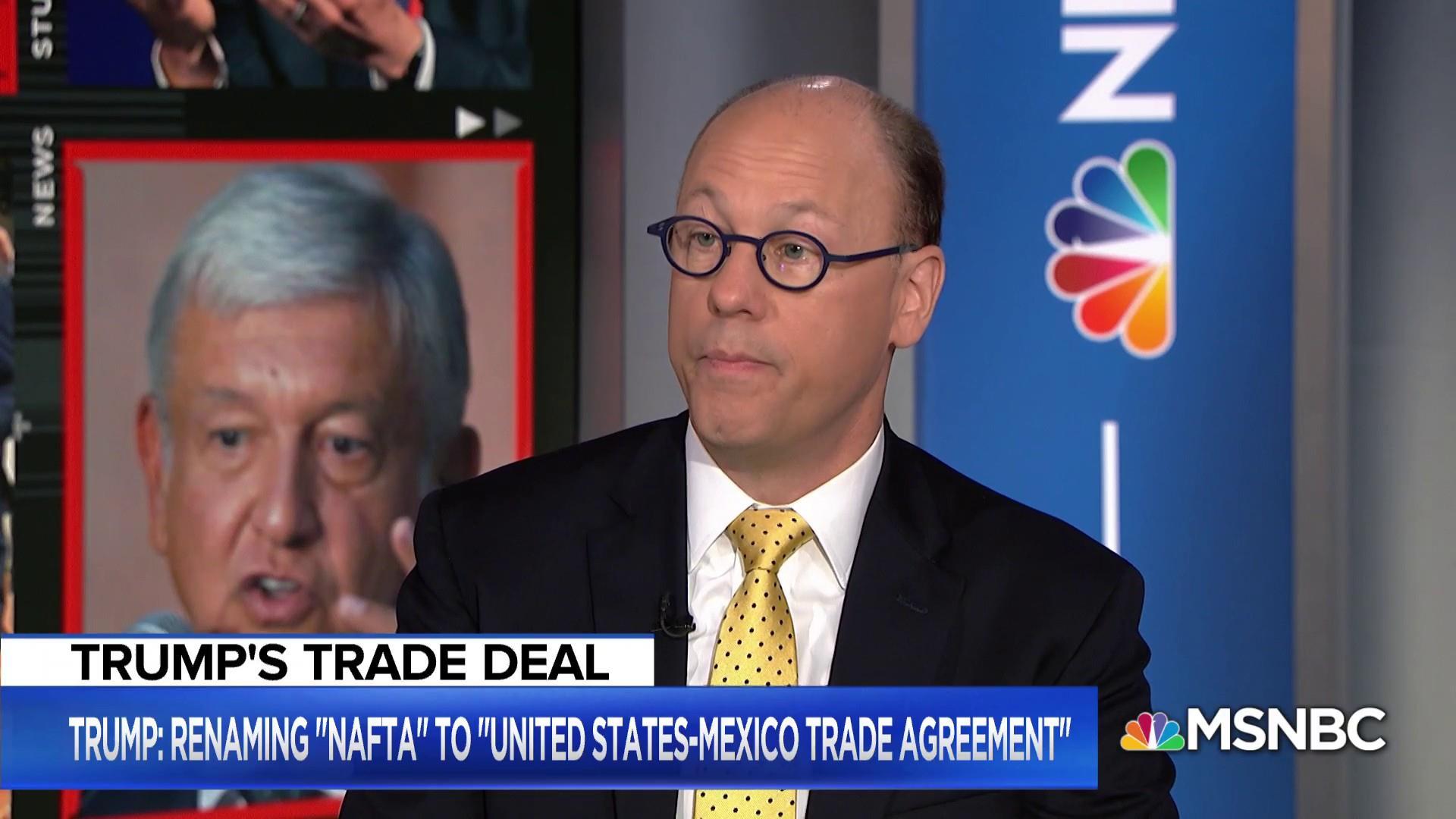 Trump announces trade deal with Mexico