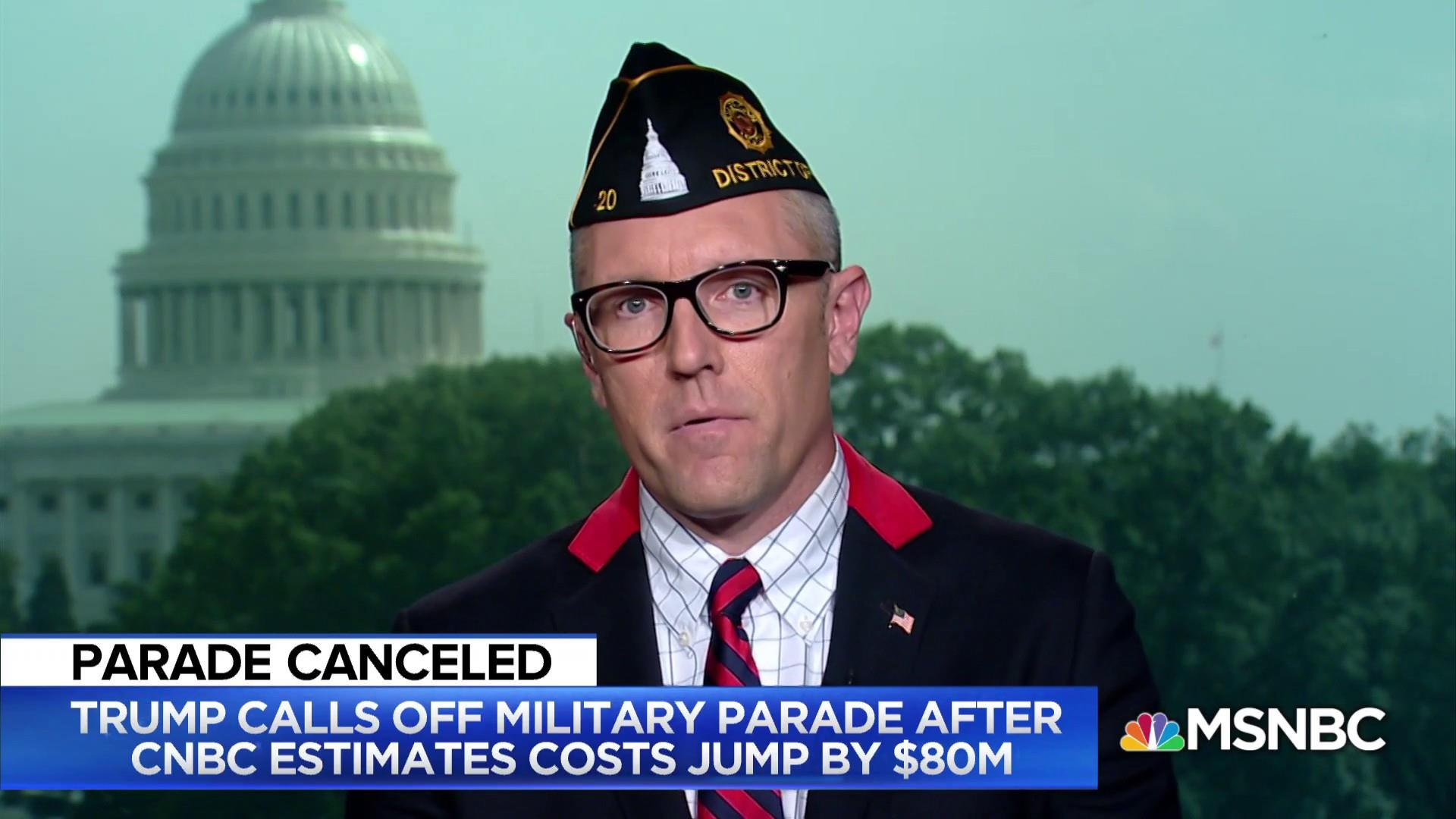 American Legion: Give funding for canceled parade to veterans