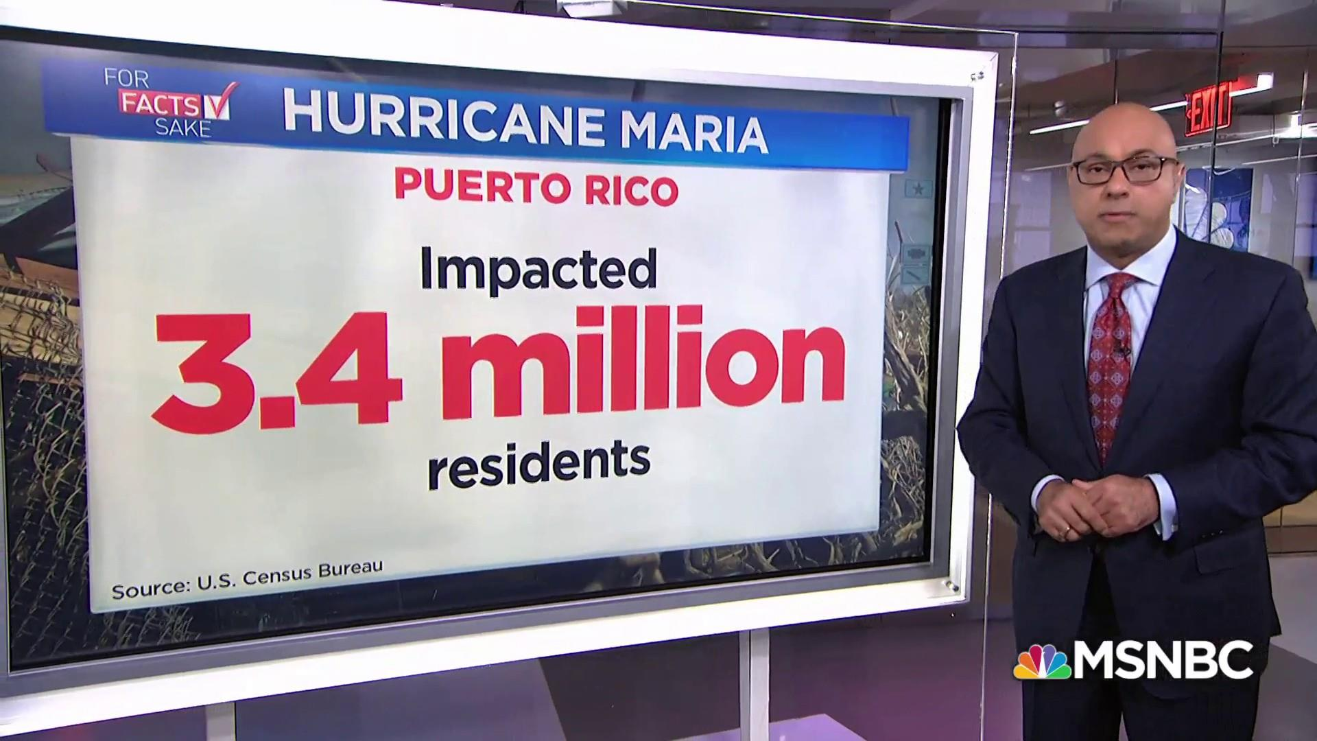 Hurricane Maria now the most devastating storm to hit the U.S.