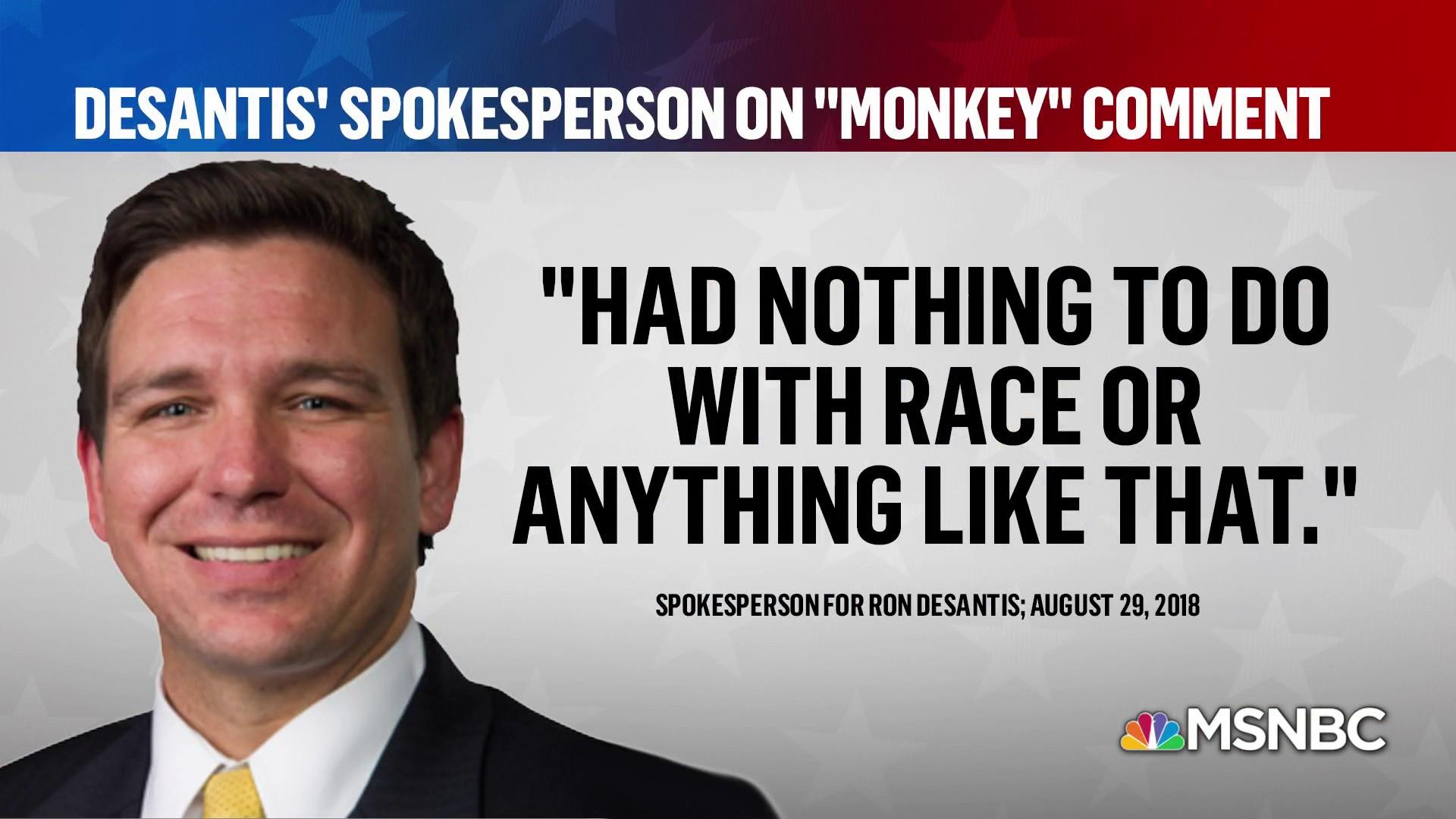 Interpreting Ron DeSantis' 'monkey this up' comment