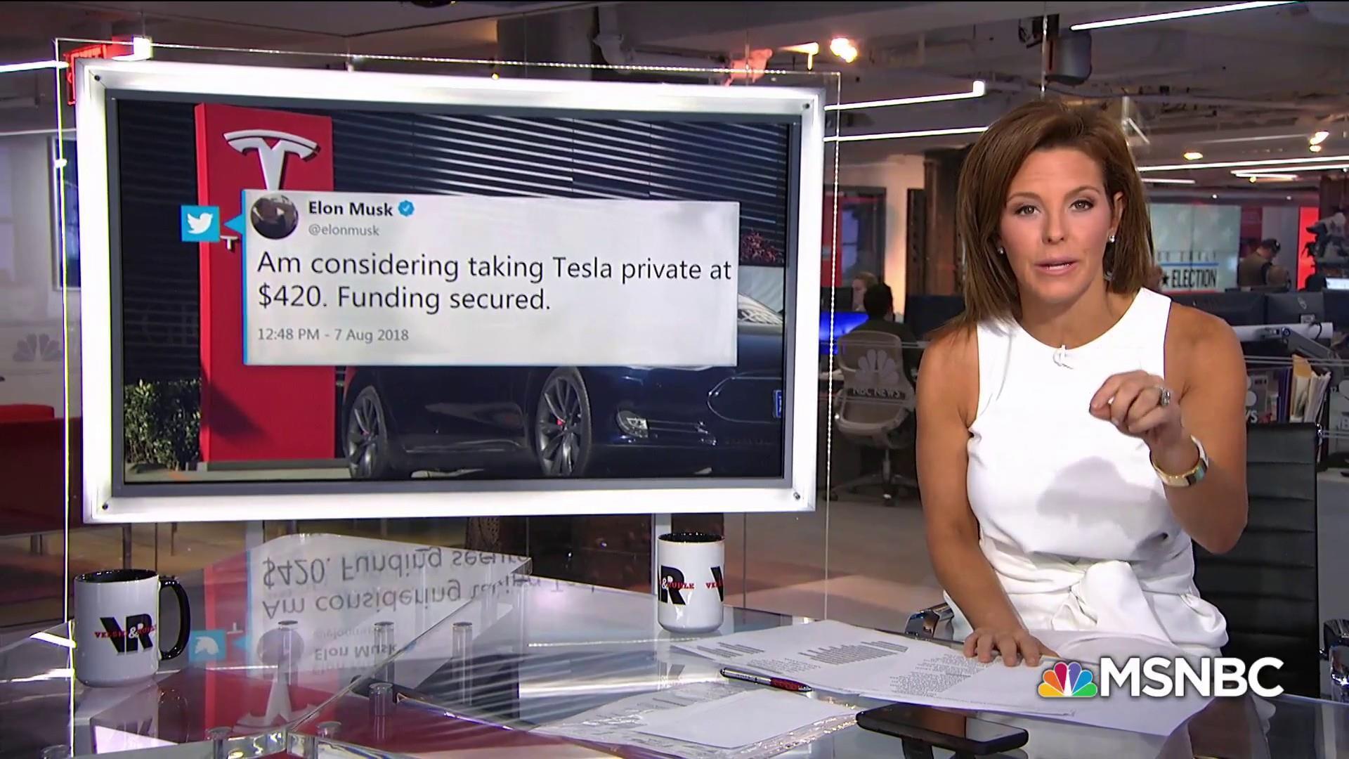Elon Musk said he may privatize Tesla, then stocks soared