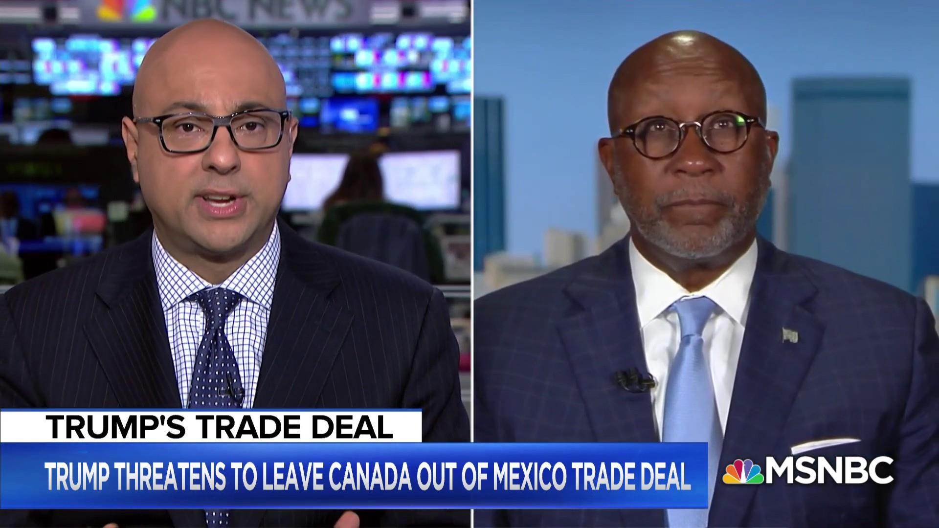 President Trump's trade war now focused on Canada
