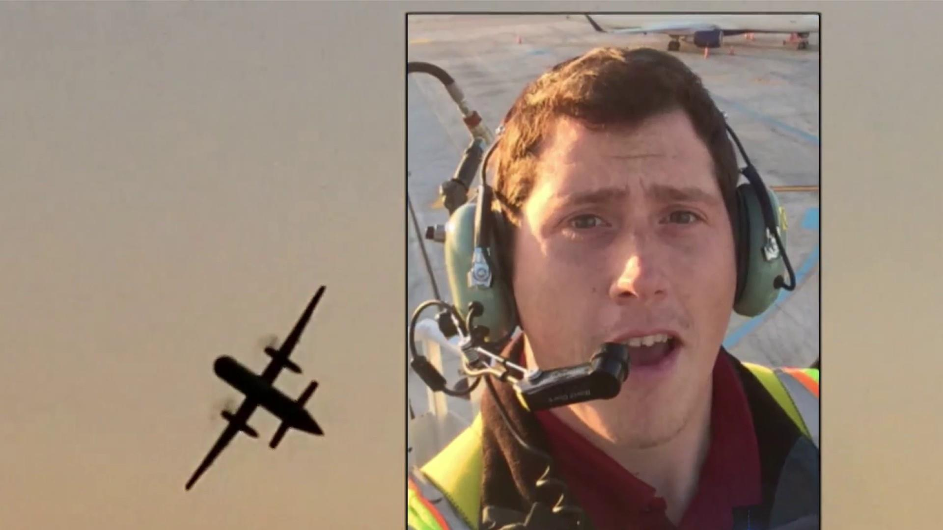 Family of man who stole plane and crashed it 'stunned and heartbroken'