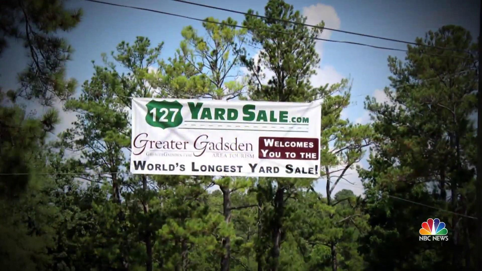 California couple find treasures in World's Longest Yard Sale
