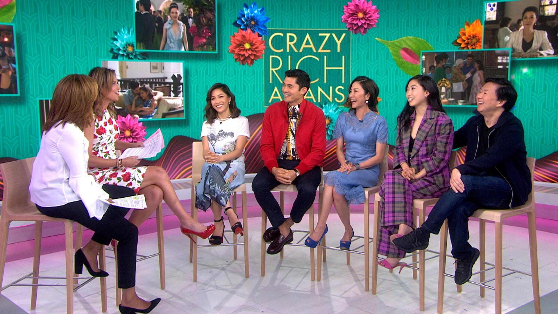 crazy rich asians' cast on the film's impact on representation in