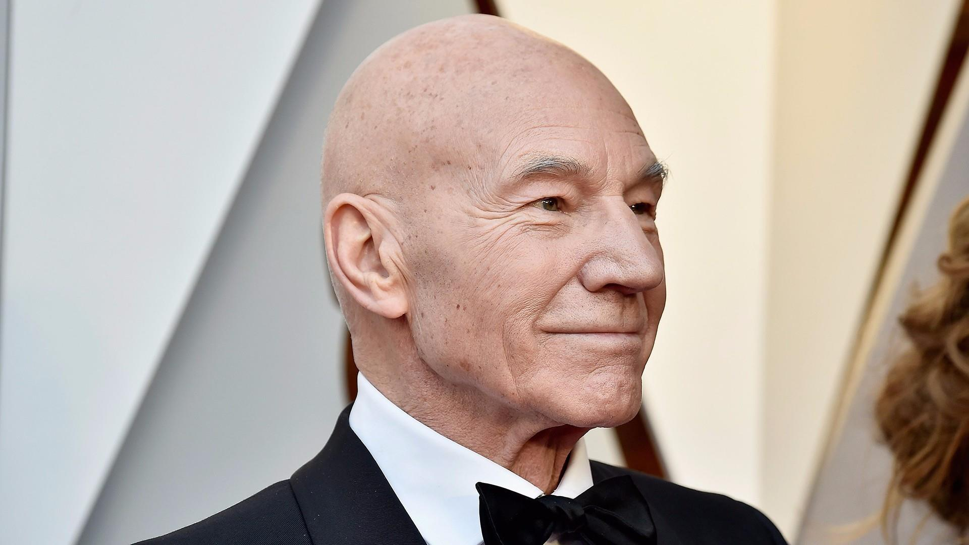 26a2886b801e Watch Patrick Stewart tell fans his classic 'Star Trek' role is back!
