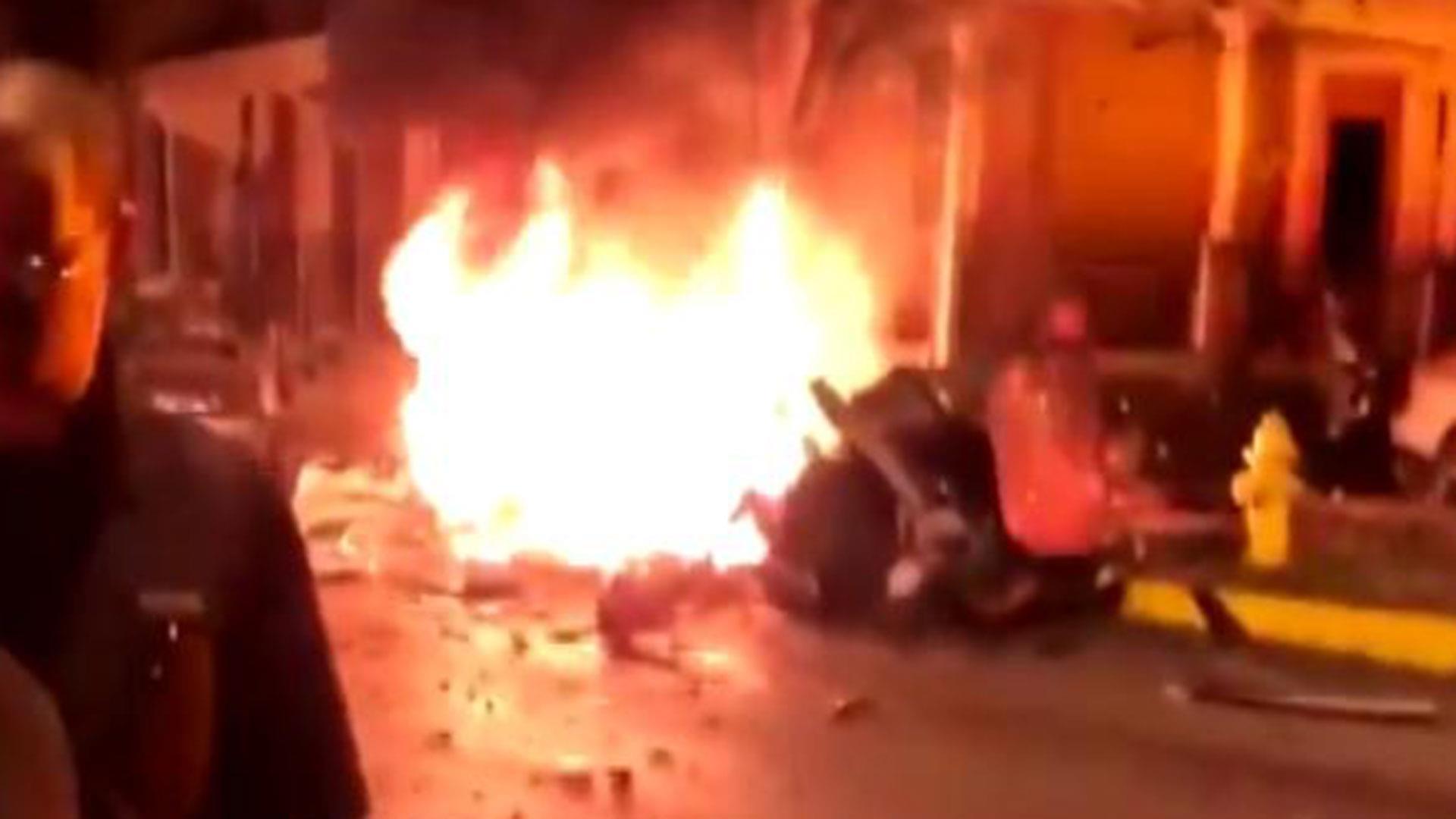 Pennsylvania car explosion kills three
