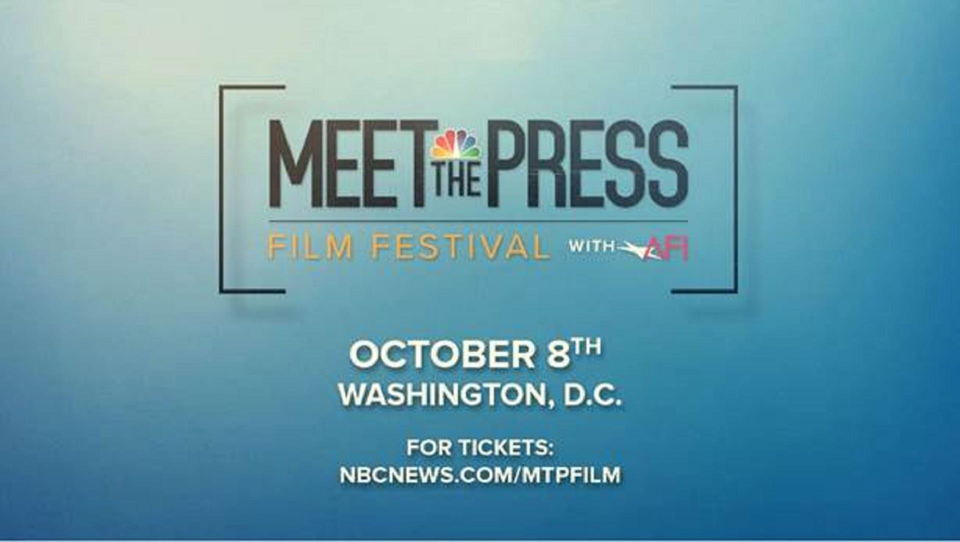 Meet the press film festival with afi tackles key issues ahead of meet the press film festival with afi tackles key issues ahead of midterms m4hsunfo