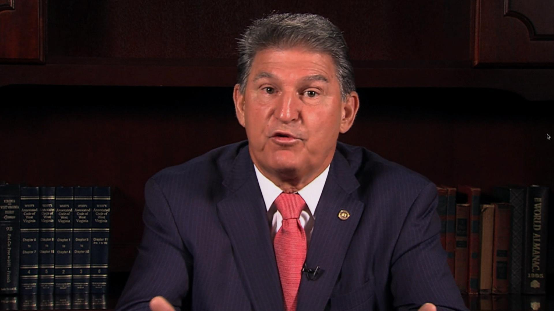Sen. Manchin makes health care his central focus