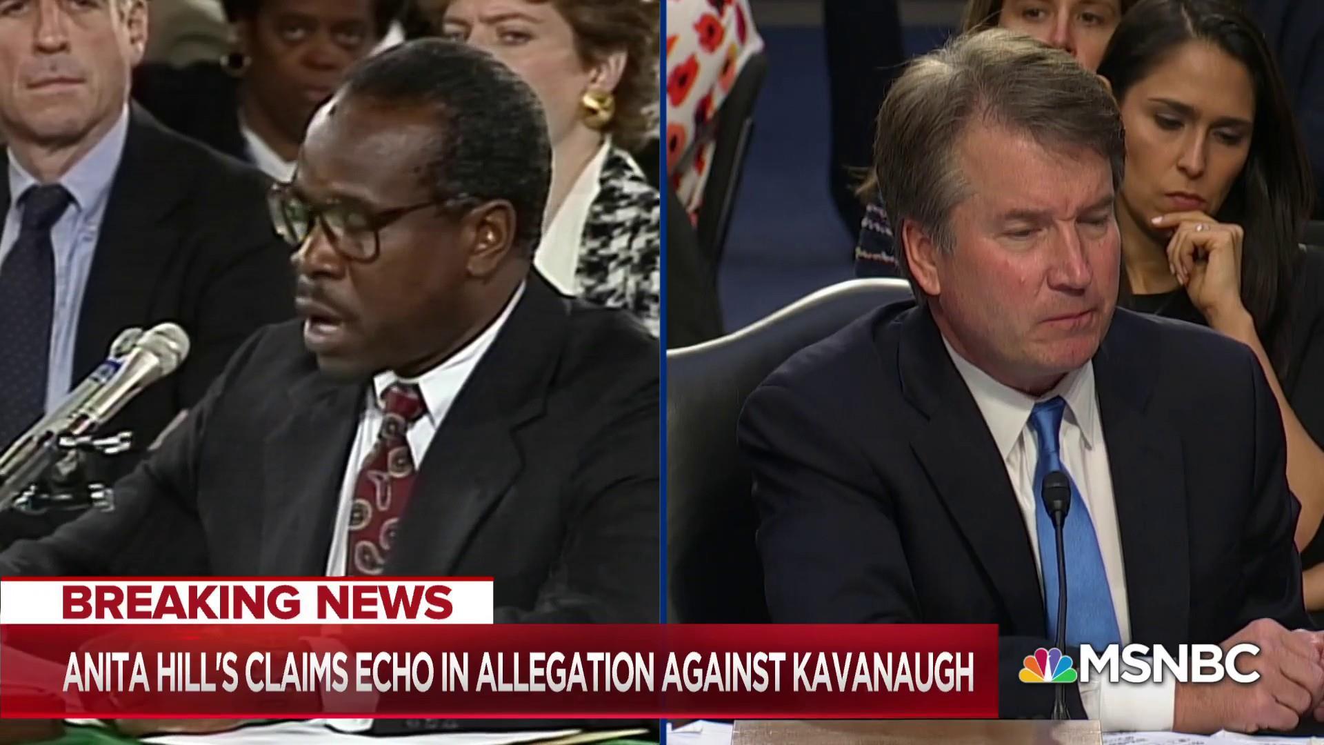 Kavanaugh allegation echoes Anita Hill bombshell