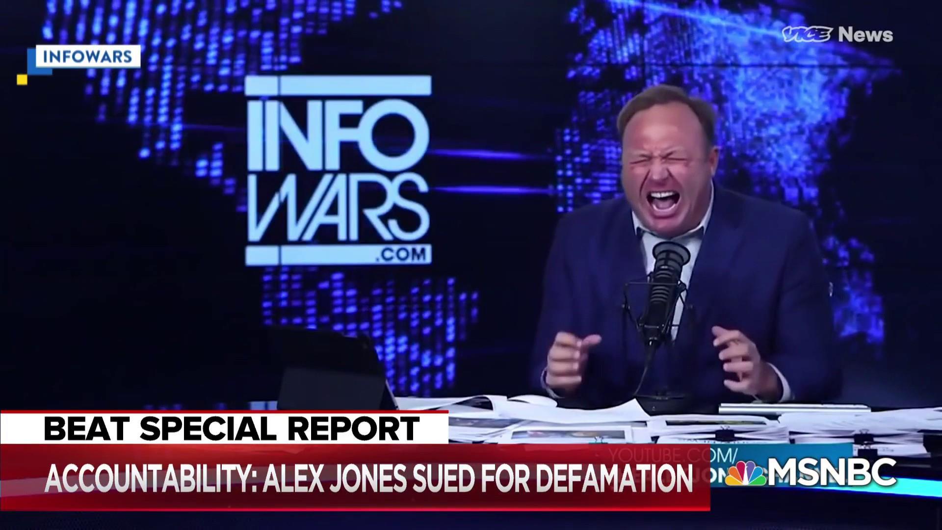 Ari Melber: 1st amendment doesn't protect Alex Jones defamation