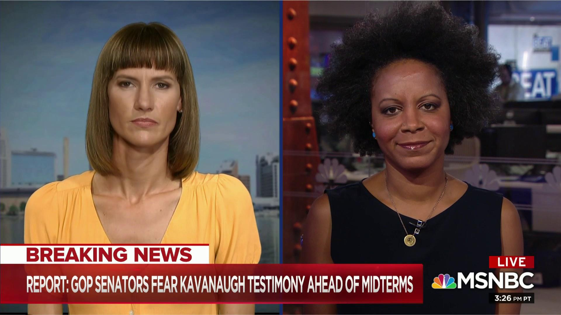 Trump accuser on Kavanaugh allegation: Once again GOP 'complicit'