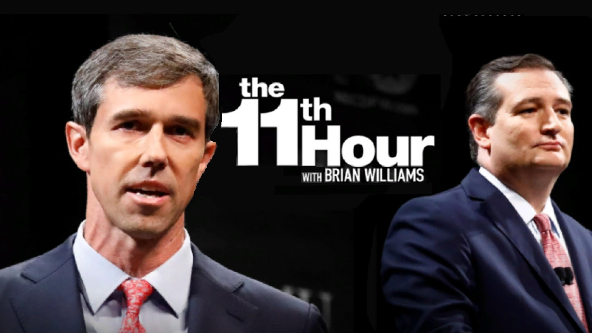 Beto O'Rourke & Ted Cruz trade jabs at fiery Senate debate