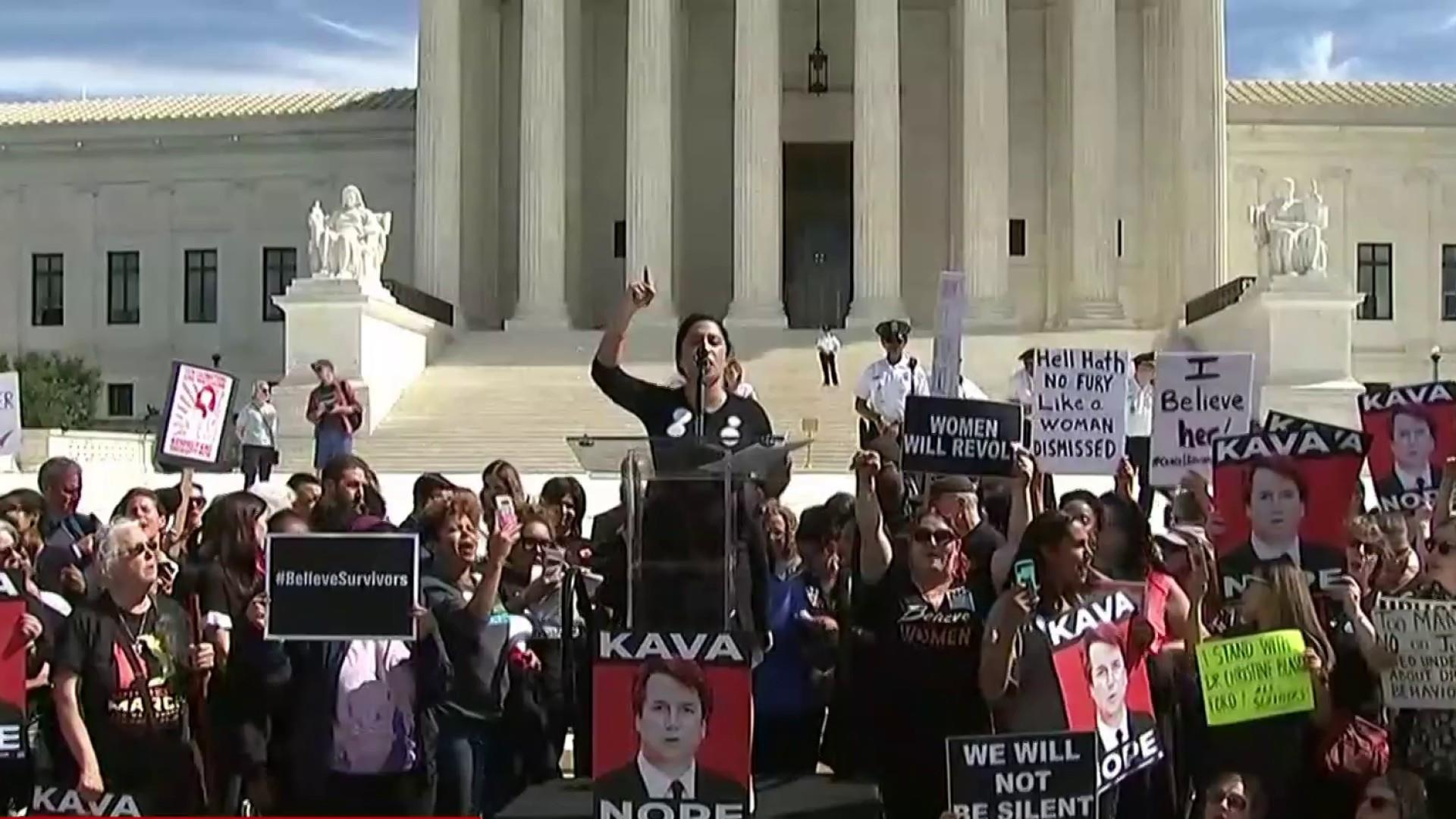 Protestors to GOP: November is coming