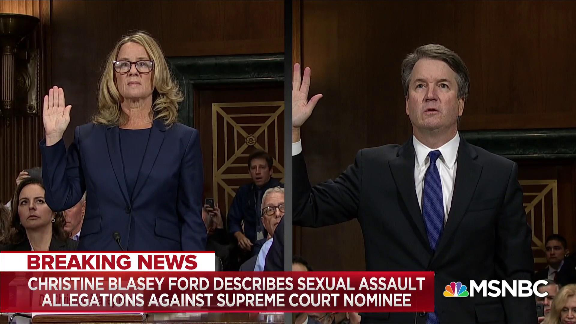 The Ford-Kavanaugh Hearing
