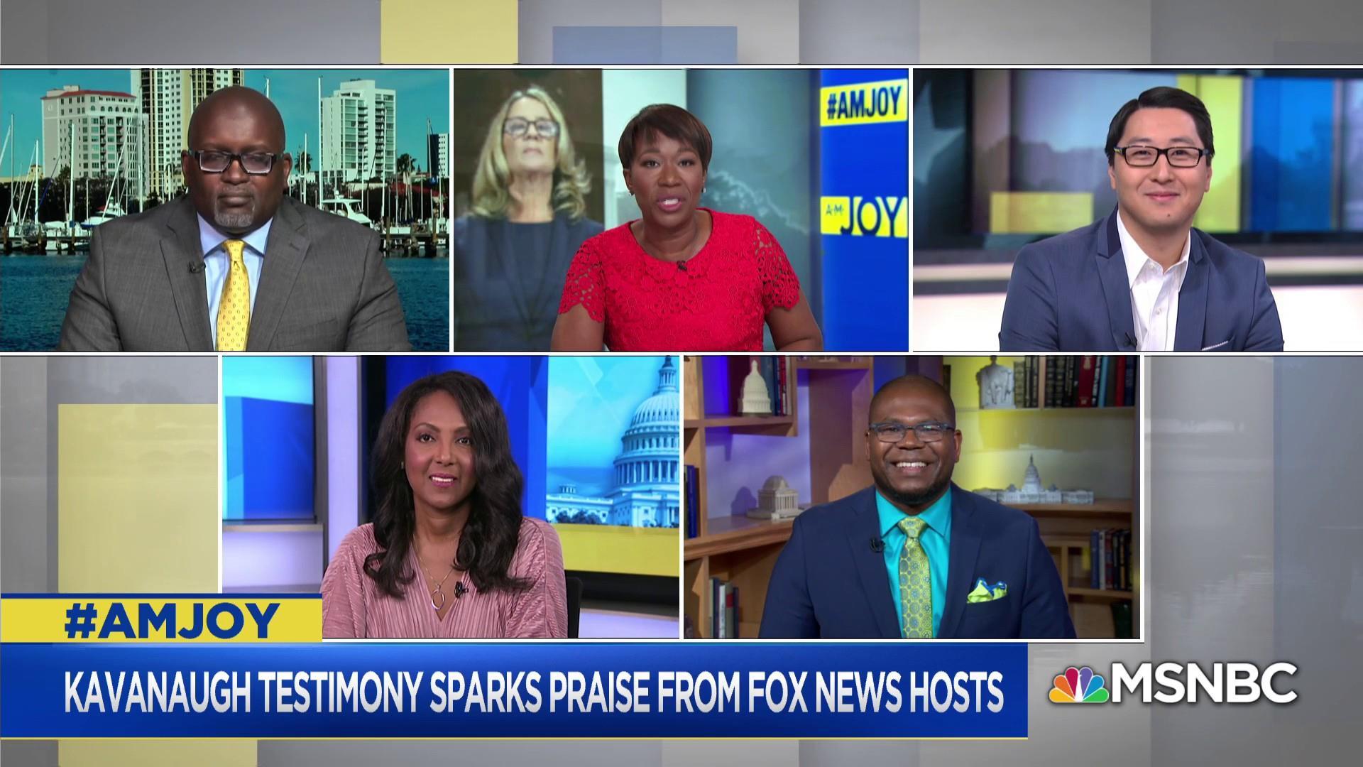 FOX News Praises Kavanaugh's Testimony