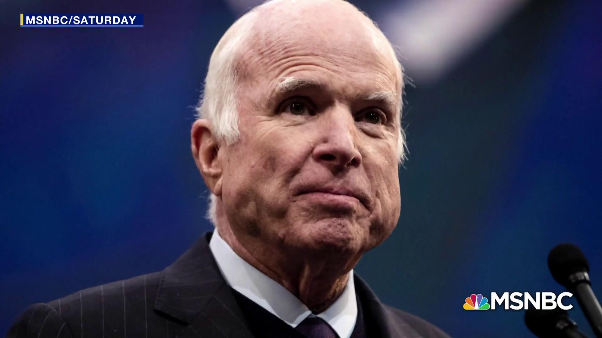 John McCain planned funeral as repudiation of Trump