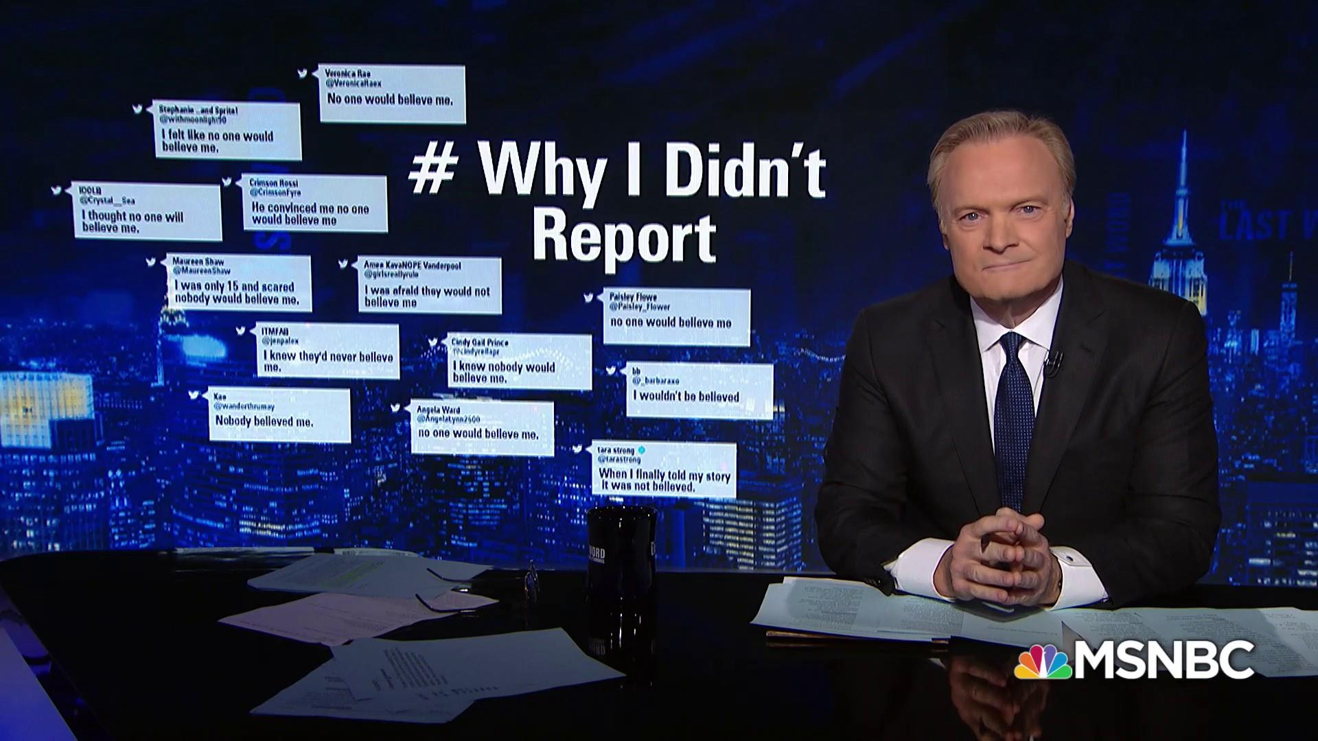 #WhyIDidntReport: victims answer Trump