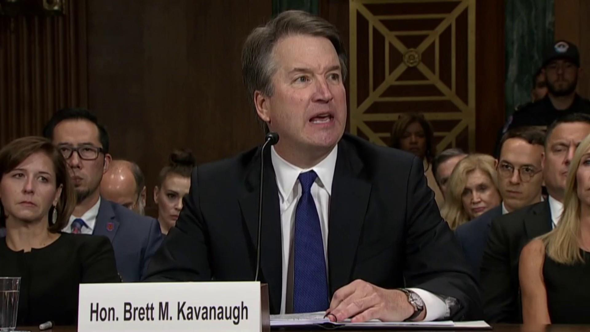 Kavanaugh's college friends say he lied under oath about drinking