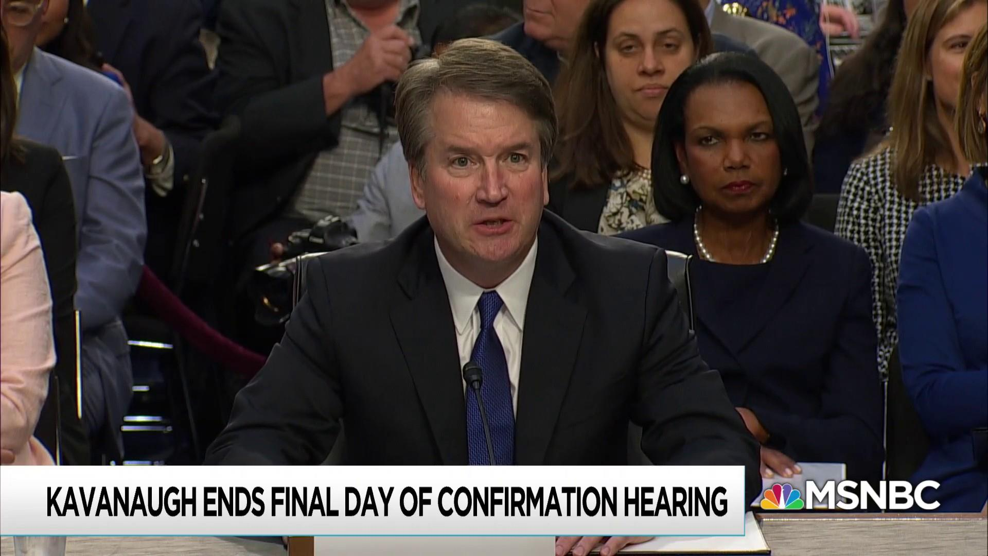 Confirmation hearing maybe too revealing for Kavanaugh's comfort