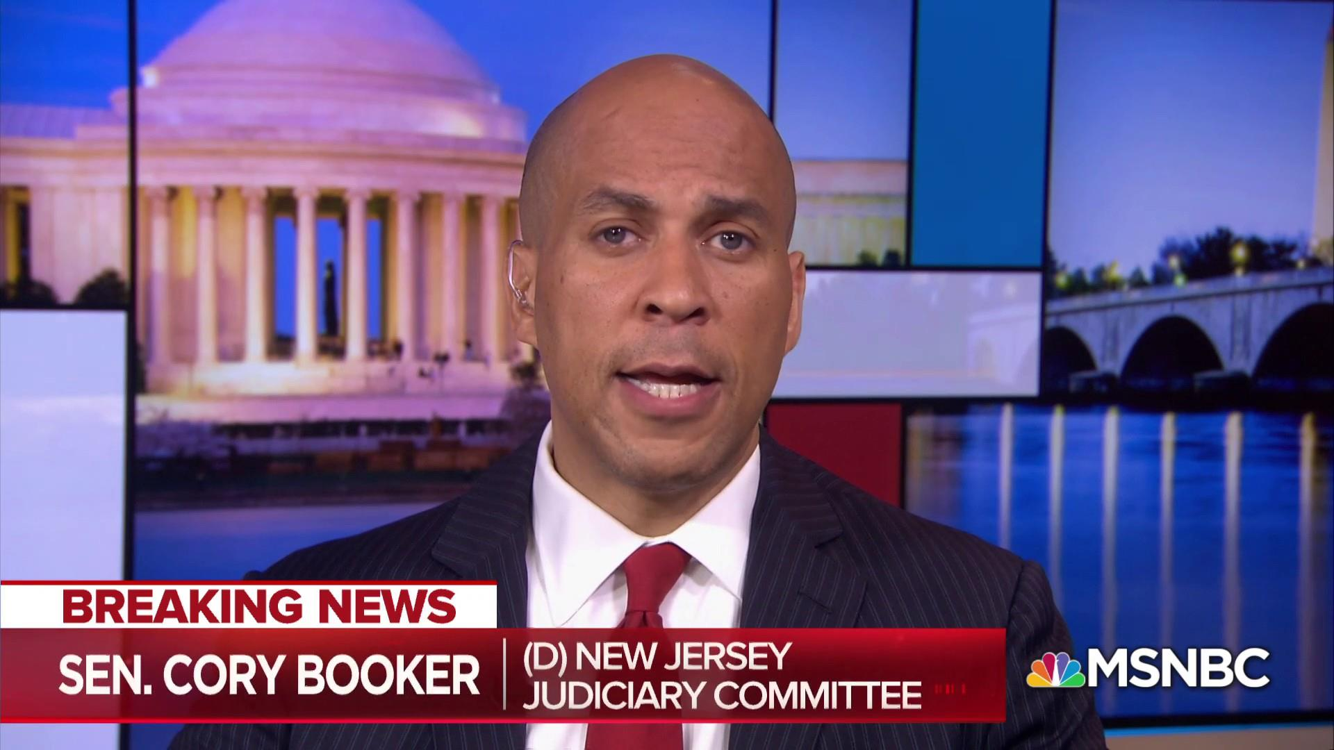 Booker: Hearing showed need for FBI investigation of Kavanaugh