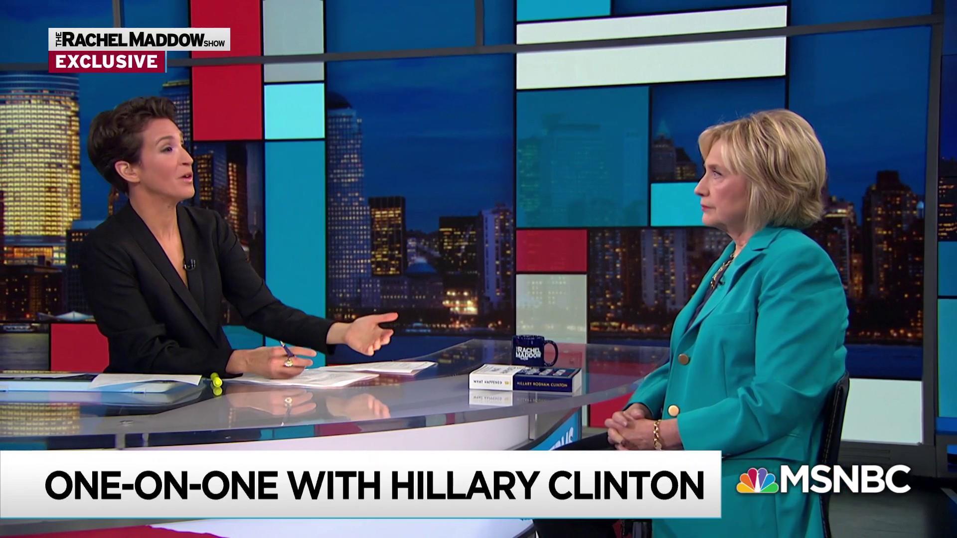 Clinton envisions packed agenda if Democrats retake Congress