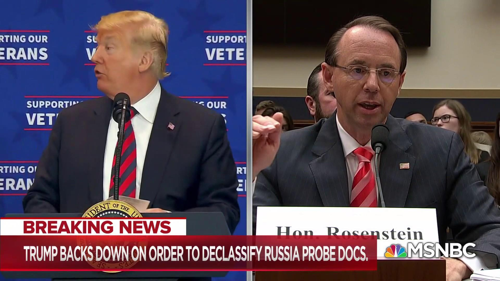 NY Times story may give Trump excuse he seeks to fire Rosenstein
