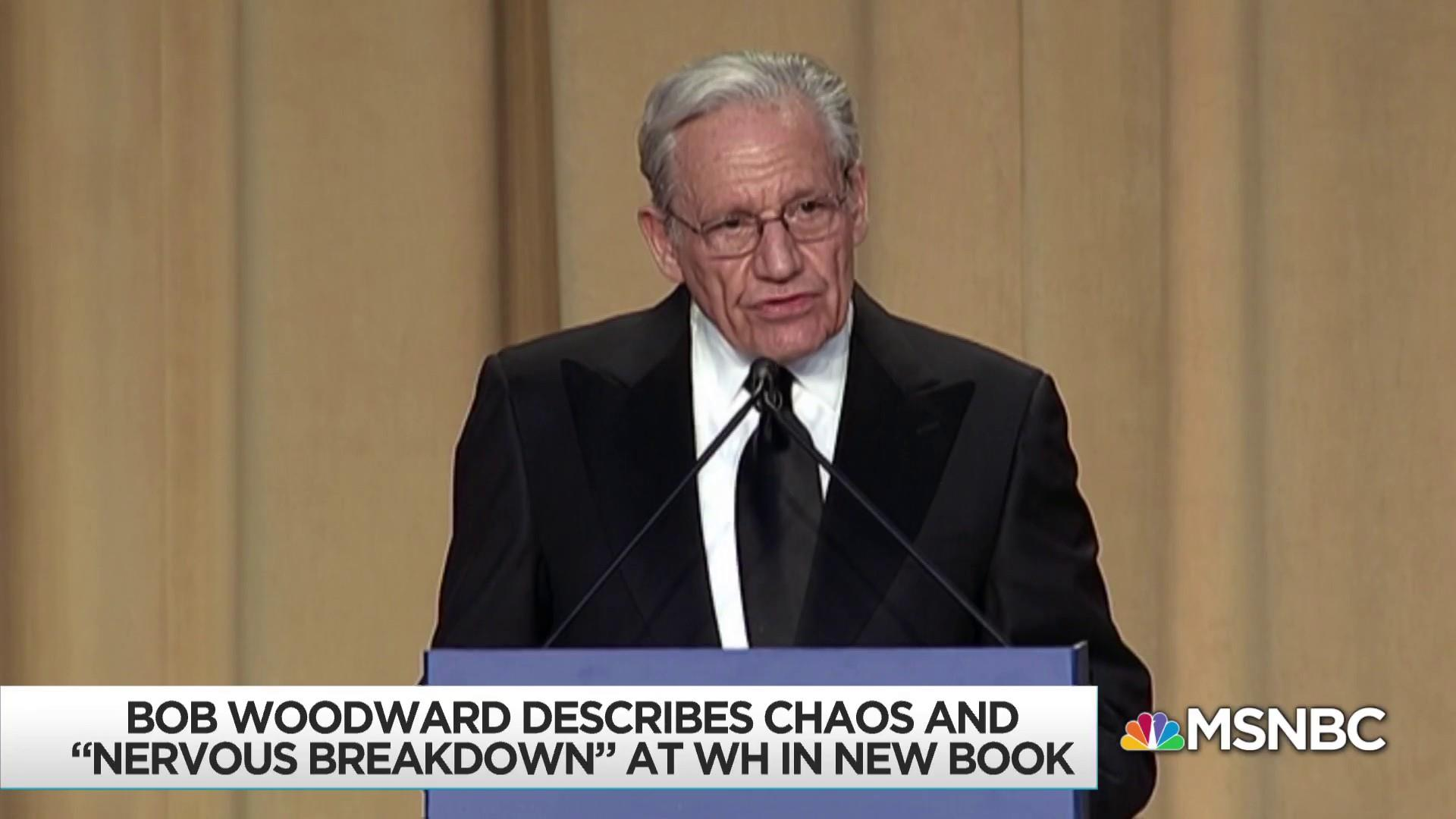 New Woodward book paints Donald Trump as unfit to serve