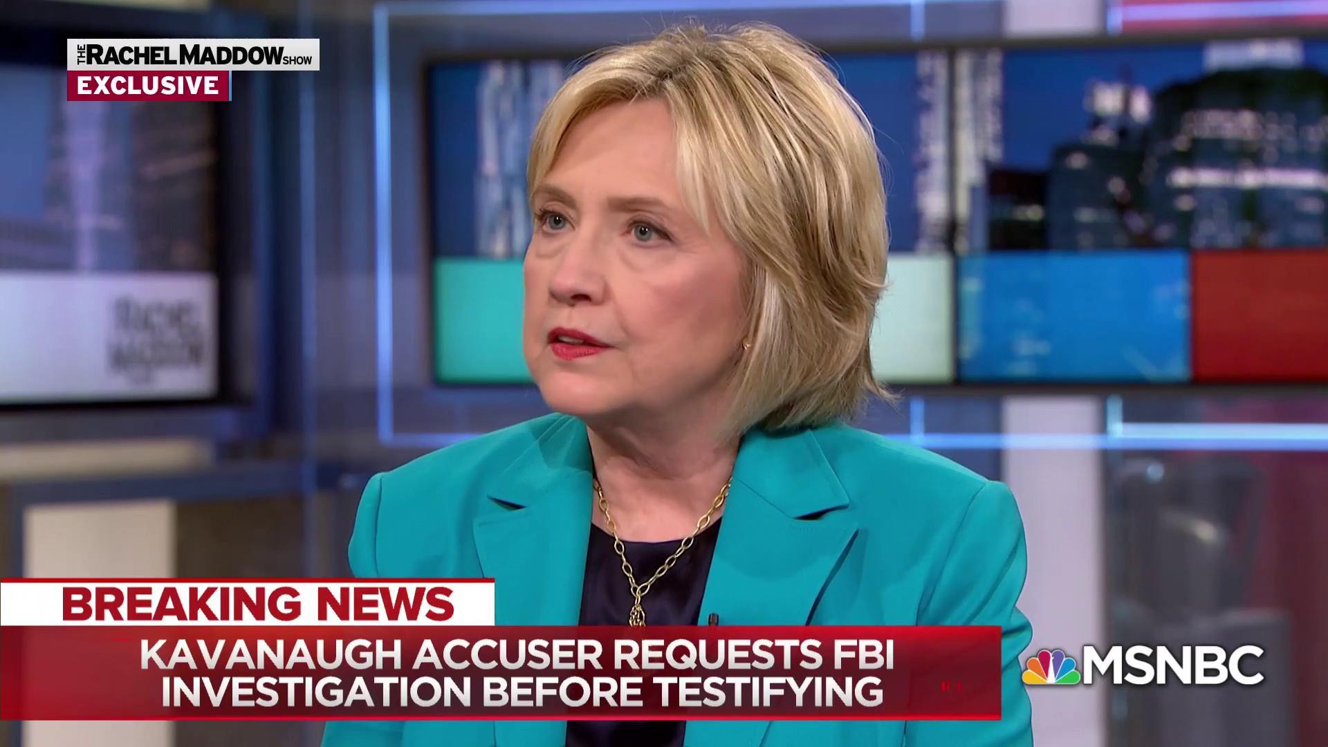 Clinton: Democrats must restore regular order in Washington