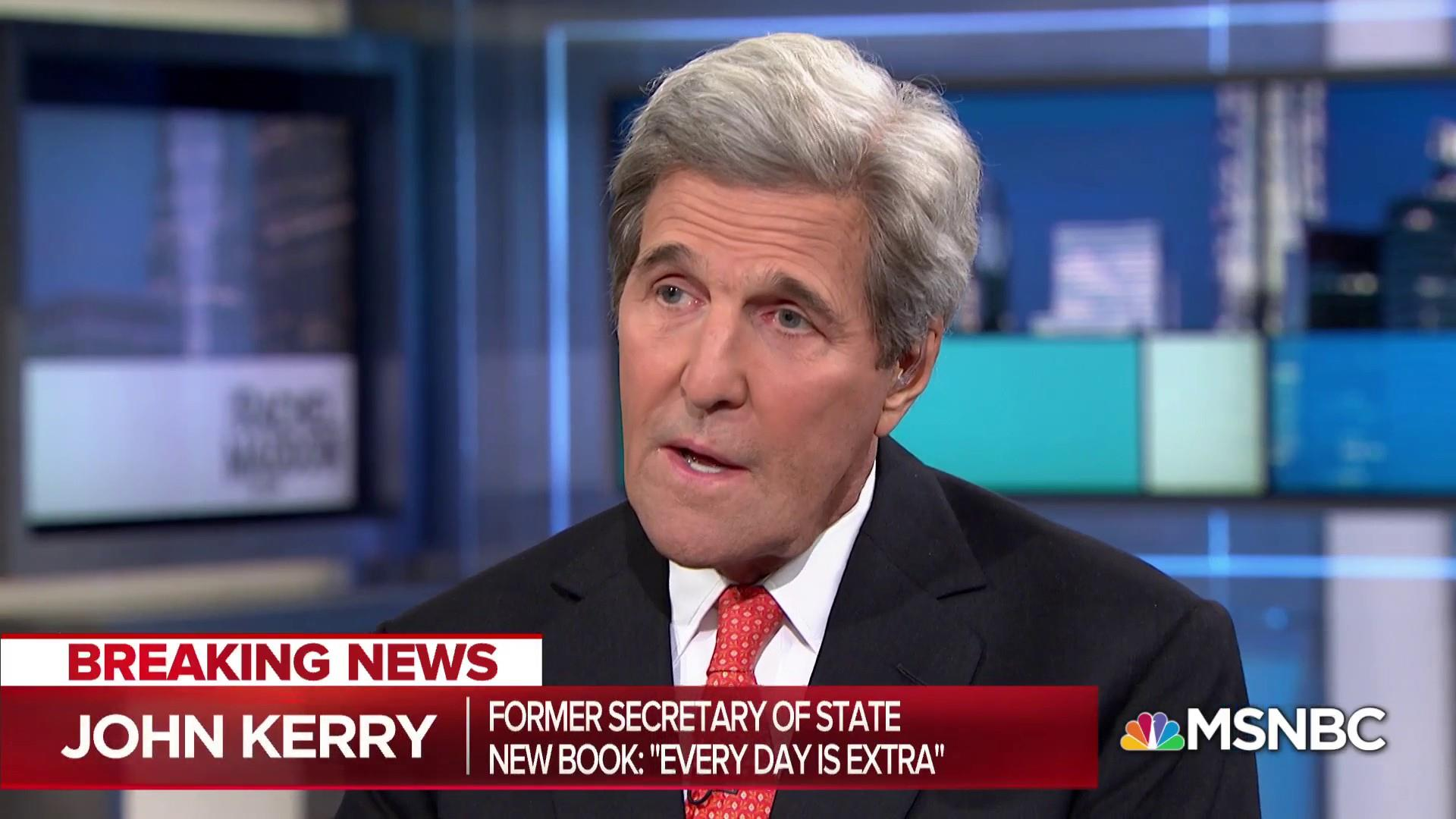 Kerry slams Trump over fact-free policymaking
