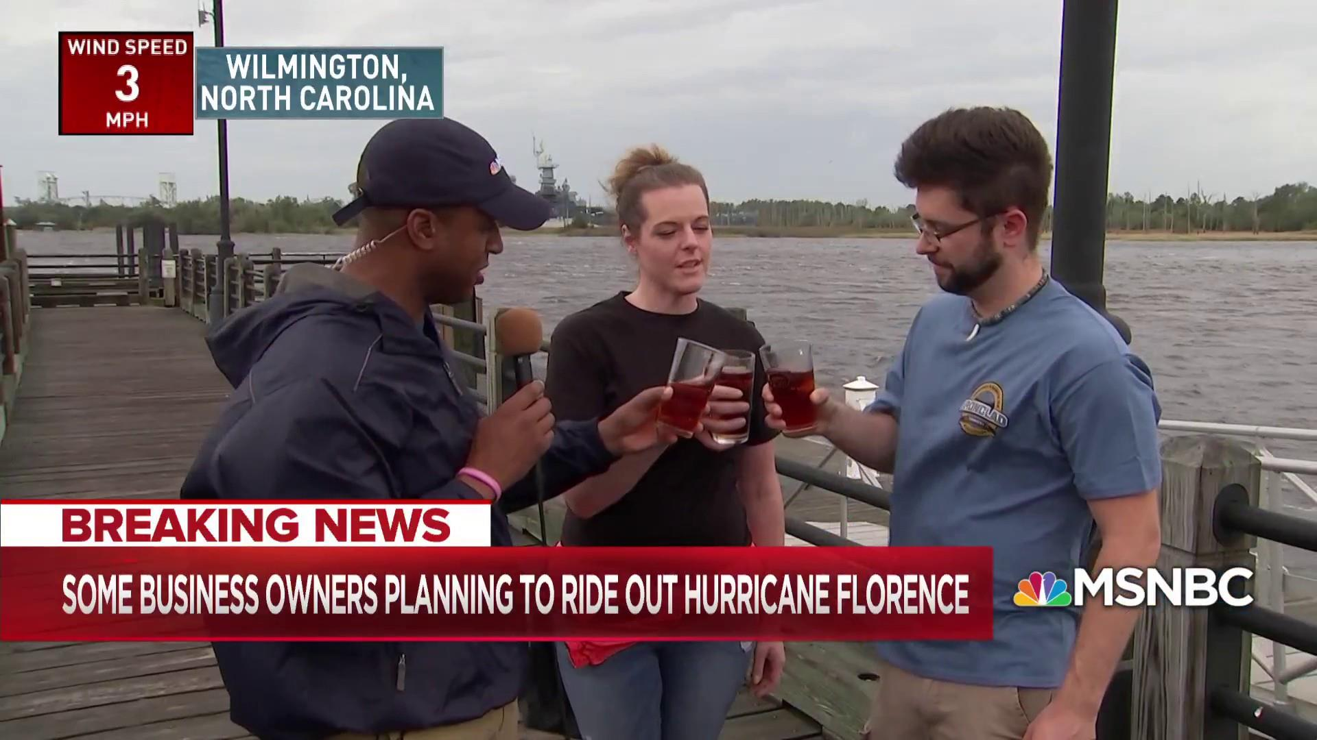 Brewery owners prepare for Hurricane Florence