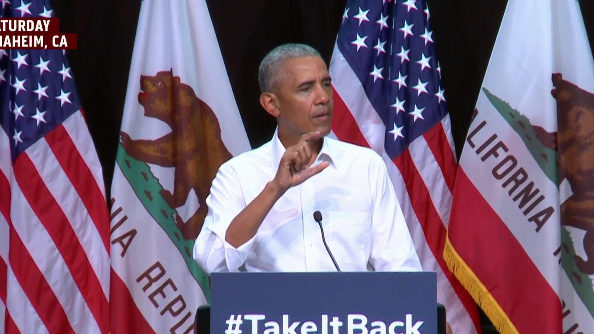 Obama brings civil discourse back to campaign trail
