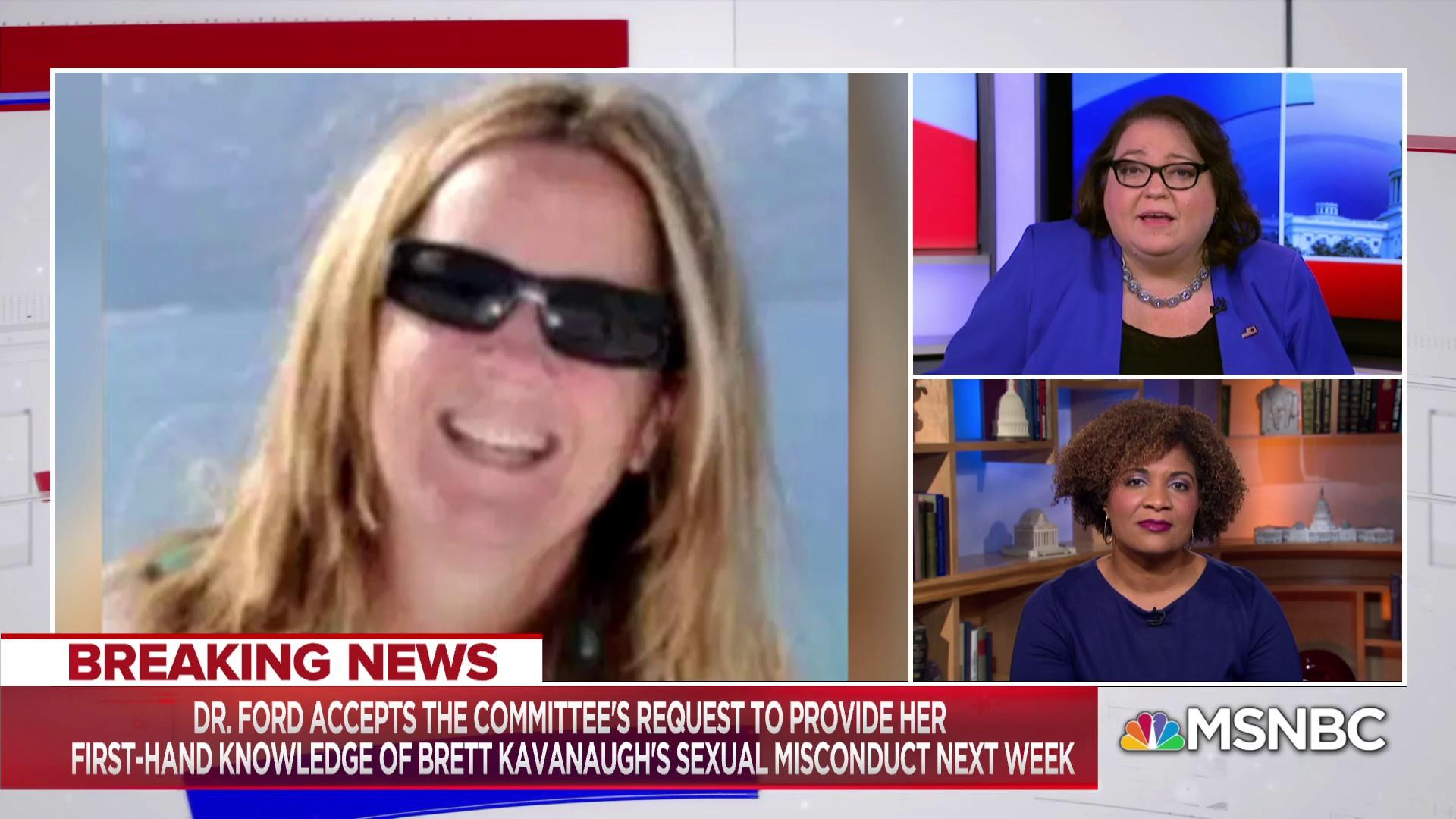 Law advocate: GOP using 'bullying tactics' on Kavanaugh accuser