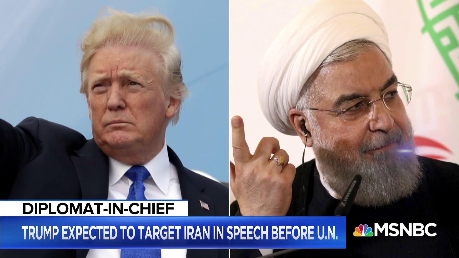 Trump: No plans to meet Rouhani, sure he is a 'lovely man'