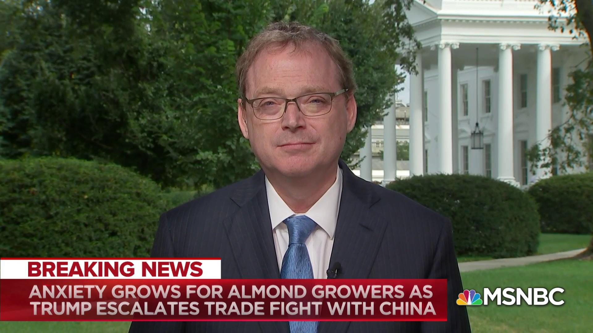 Hassett on China tariffs: 'They have to behave like an adult nation'