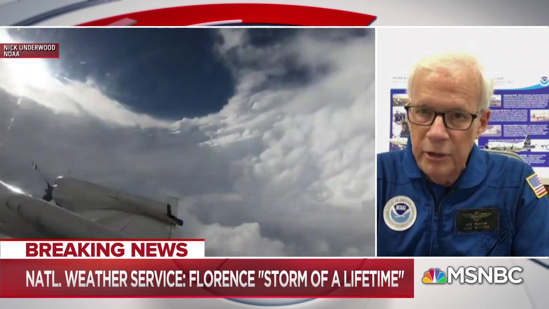 Hurricane Hunter: Florence has reminiscence of Katrina