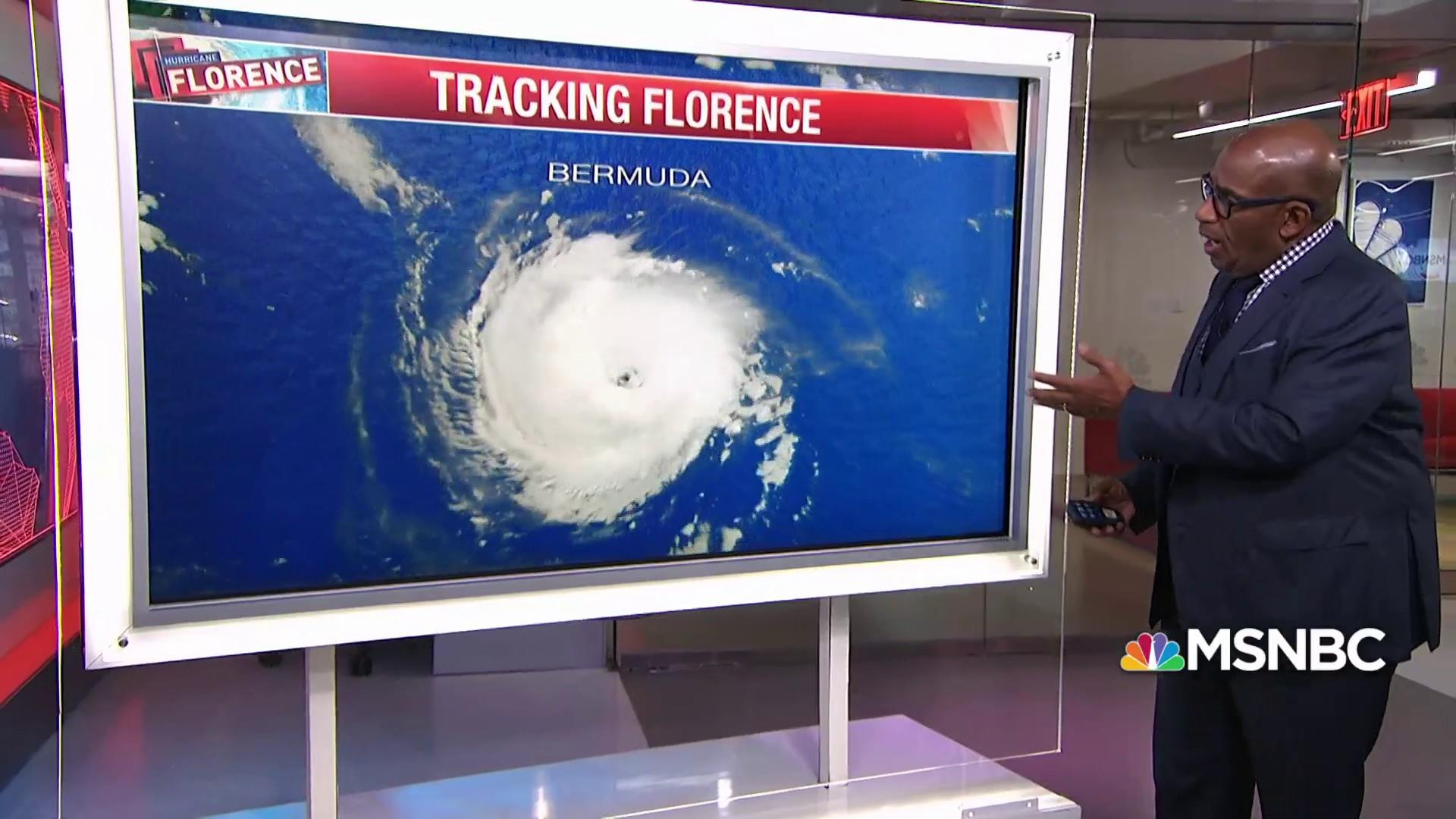 Hurricane Florence forcing more than a million people to evacuate