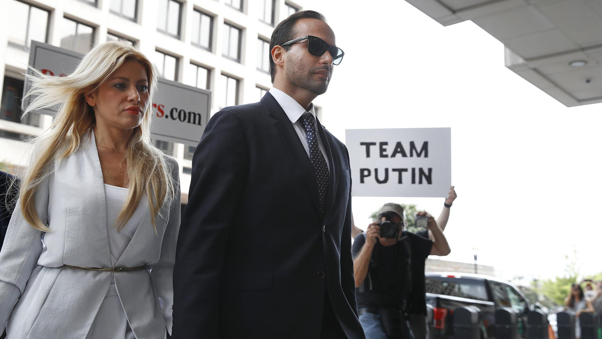 Papadopoulos sentenced to 14 days in jail for lying to FBI in Mueller probe