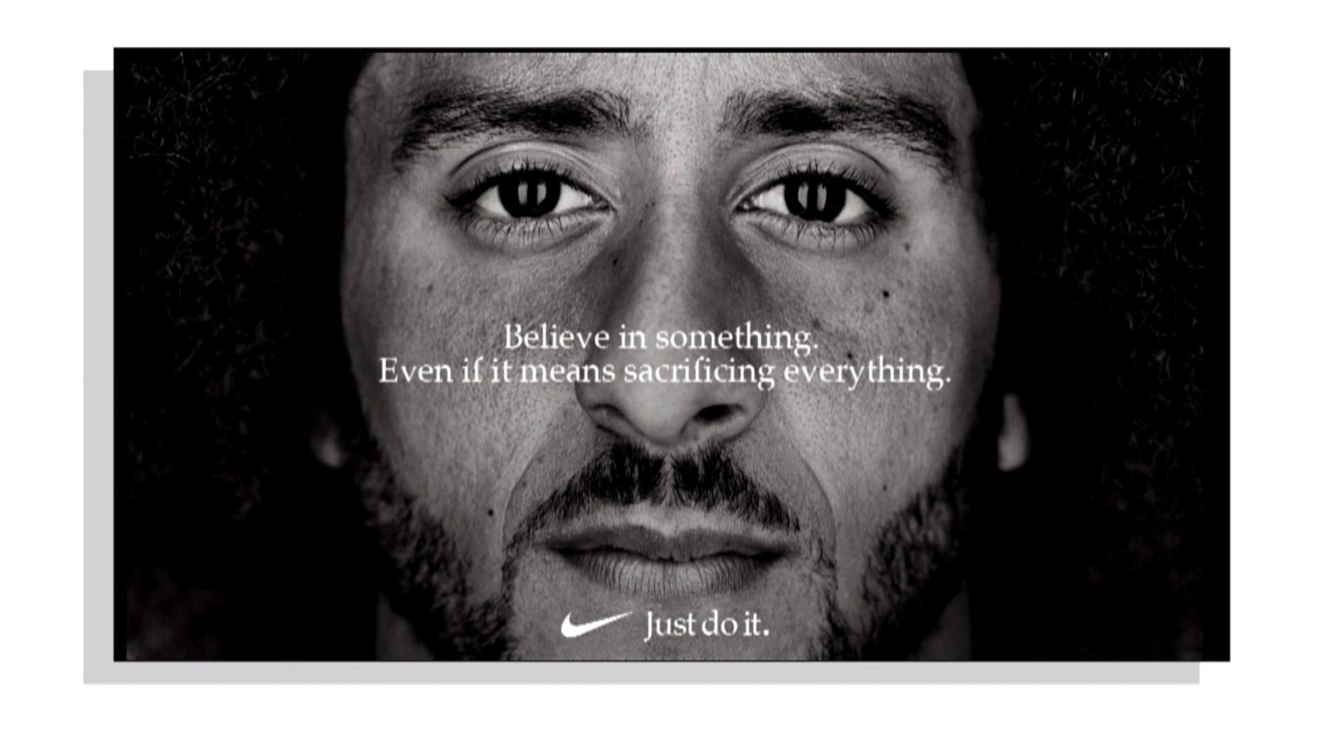 sports shoes 2bdf5 33a6a Colin Kaepernick named the face of Nike s  Just Do It  campaign