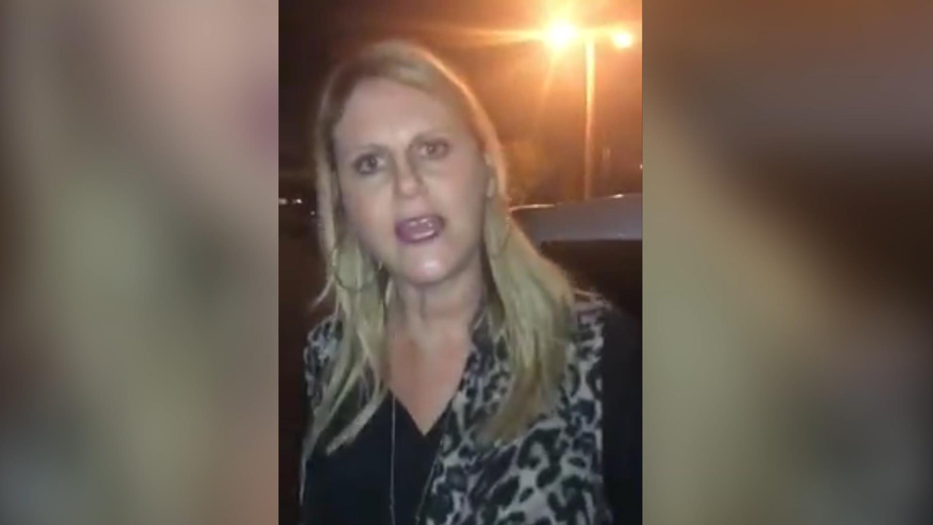 White woman charged after harassing black women turns herself in to police