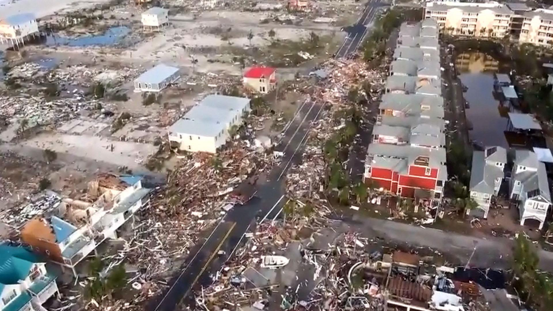 Hurricane Michael death toll rises as rescue crews struggle to access hard-hit areas