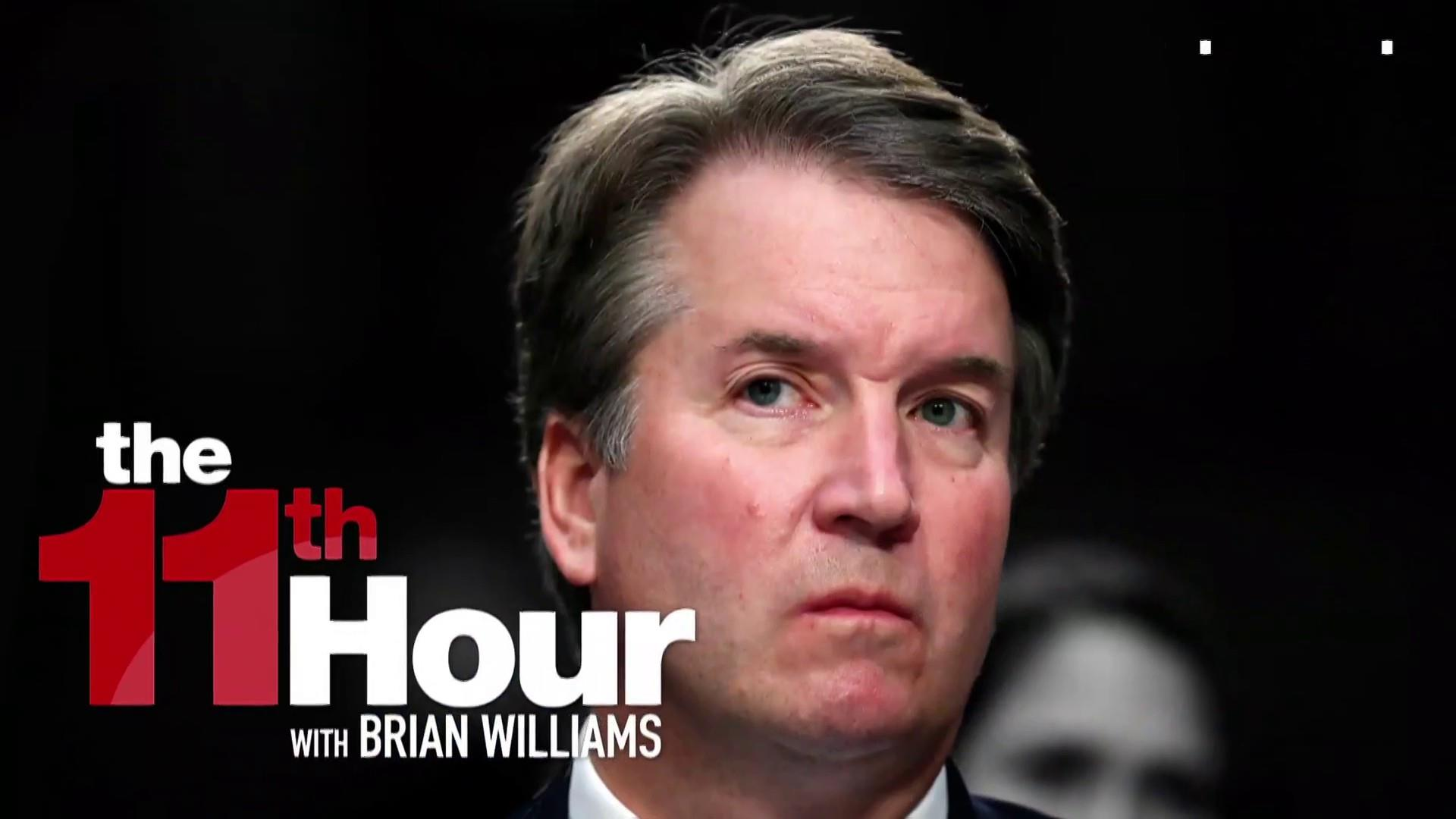 NBC News: FBI may already be wrapping up Kavanaugh investigation