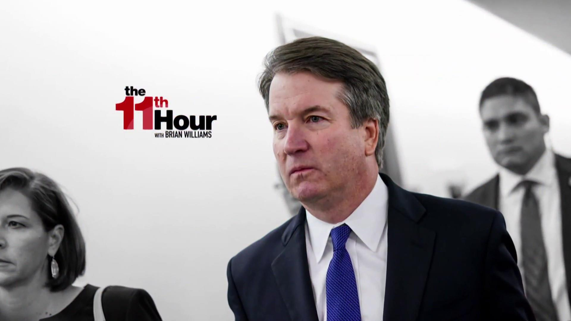 FBI ends Kavanaugh probe without talking to dozens of witnesses
