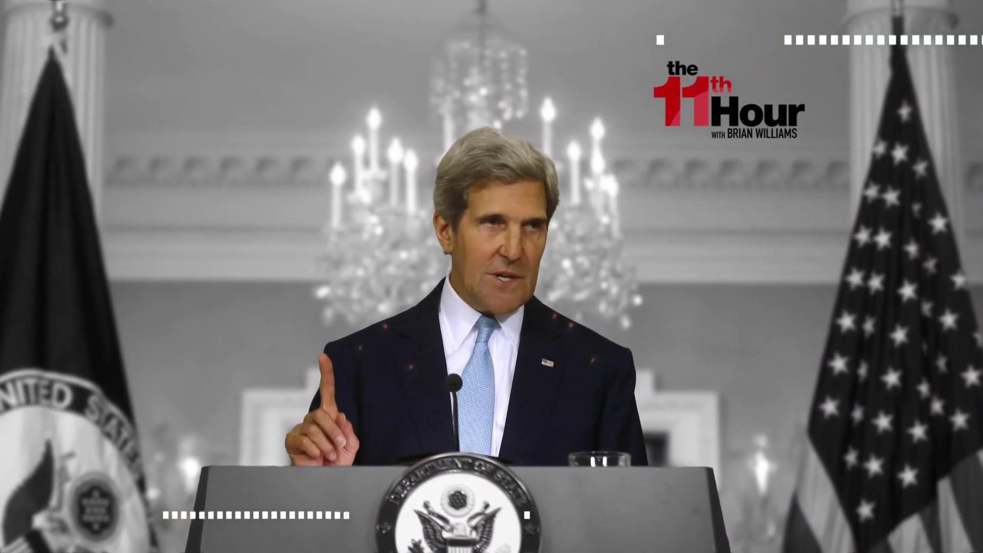 John Kerry: Enormous mistake how Senate is handling Kavanaugh