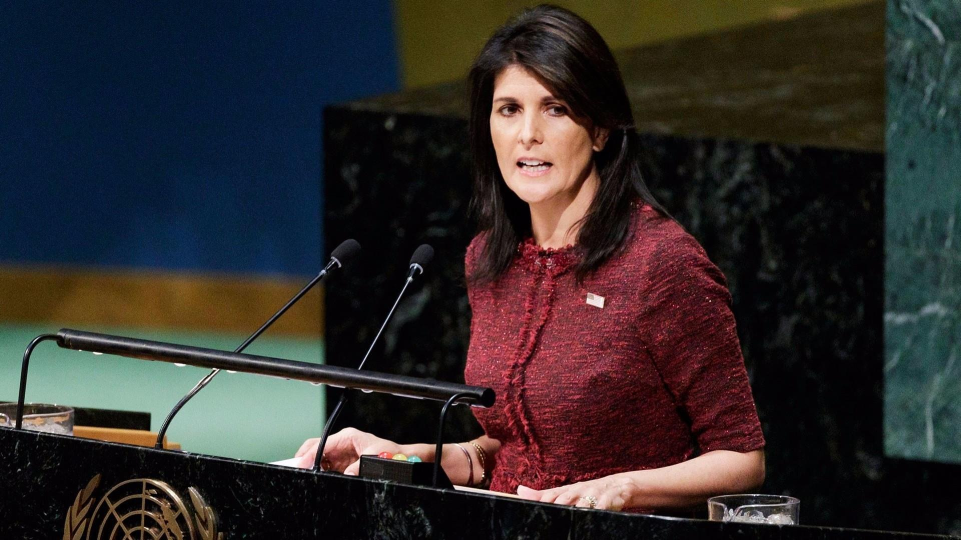 UN Ambassador Nikki Haley has told staff she plans to resign