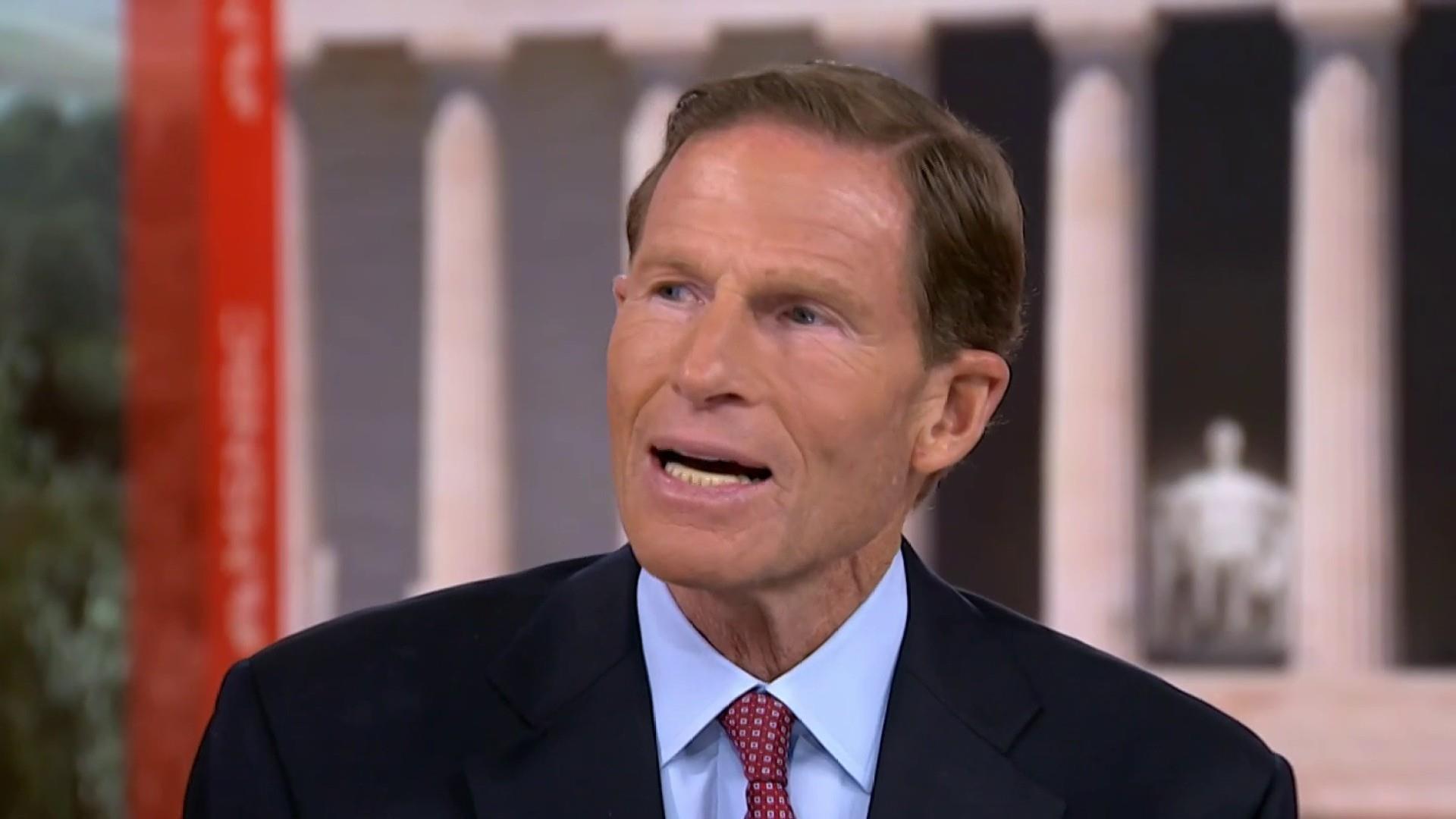 Sen. Blumenthal on Trump mocking Dr. Ford: Appalling
