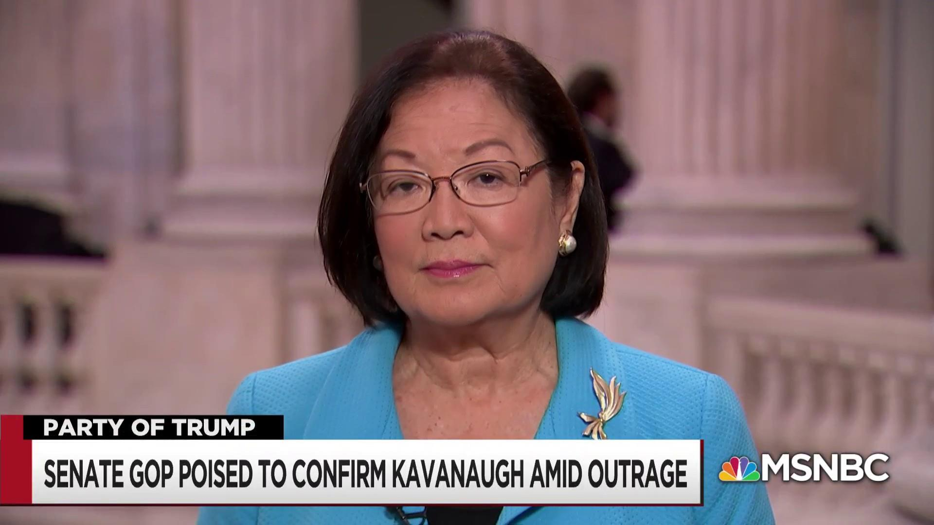 Sen. Hirono on Kavanaugh vote and 'clueless' Grassley