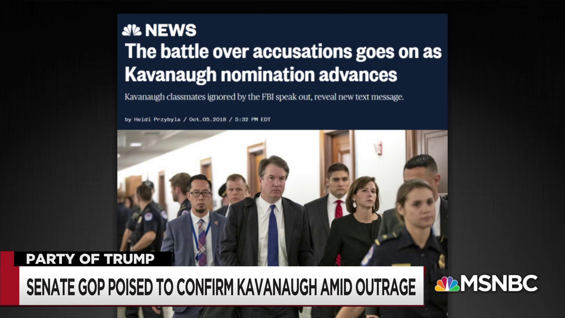 New evidence of a Kavanaugh cover up