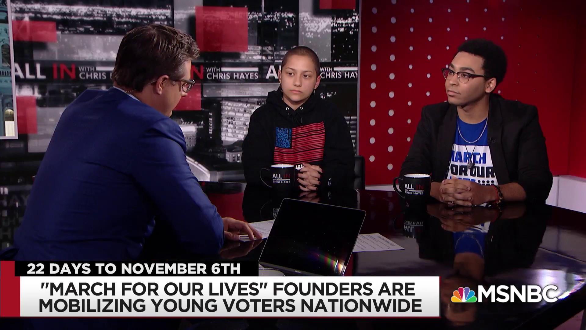 Parkland survivor Emma Gonzalez is mobilizing young voters