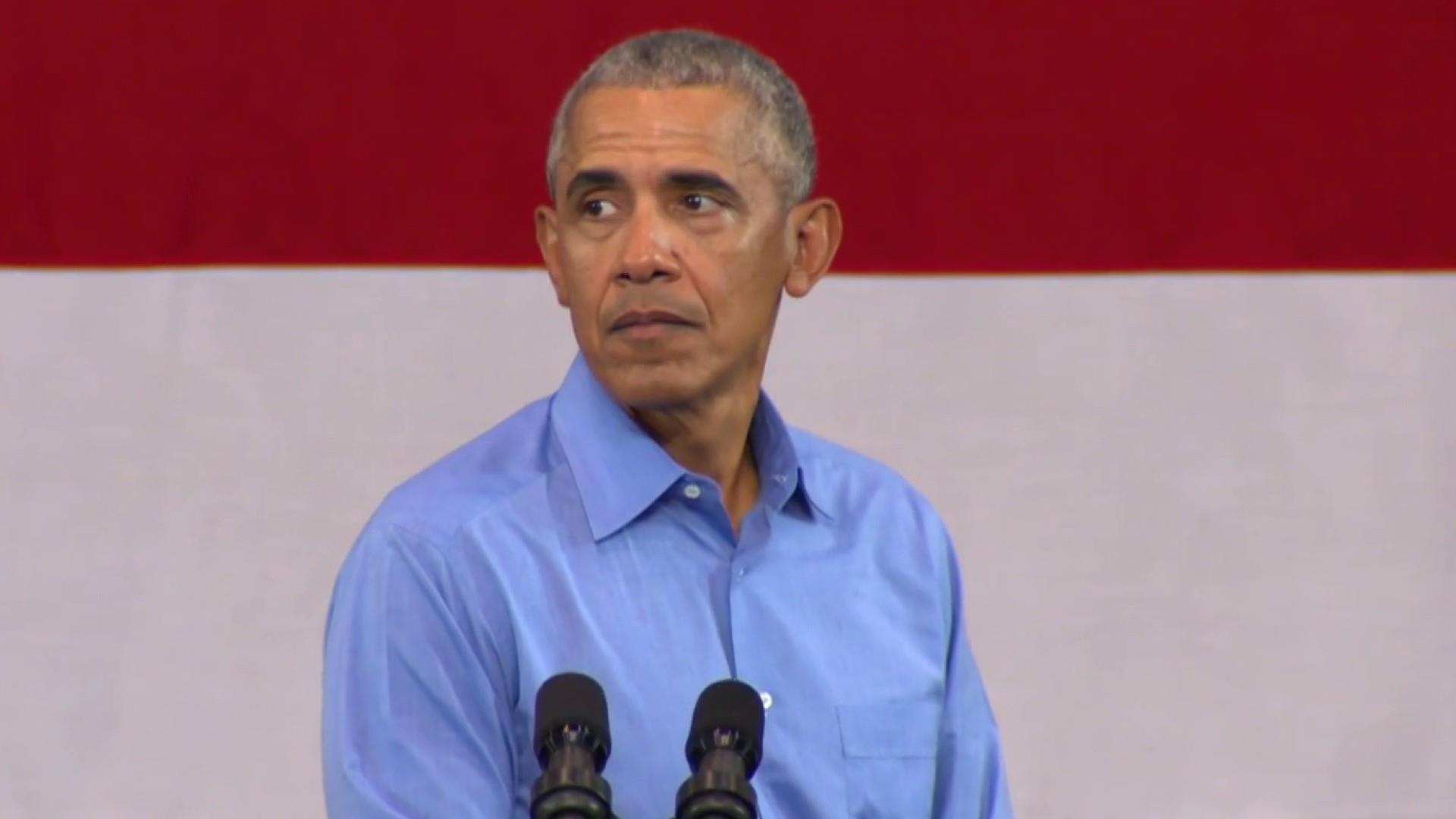 Obama slams politicians lying